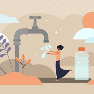 【防災備蓄】水の量ってどのくらい必要?~目安と保管方法~