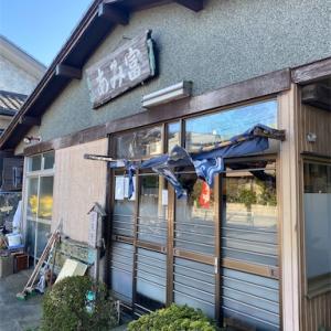 江戸川サイクリングロード近くで食事 アジフライ定食