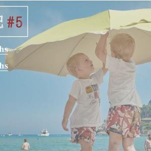 <育児日記#5> 3歳6ヶ月+1歳6ヶ月