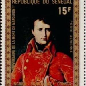 医学切手アラカルト-8.ナポレオンは何故何時も腹部に手を差し入れたポーズをしているのか?-