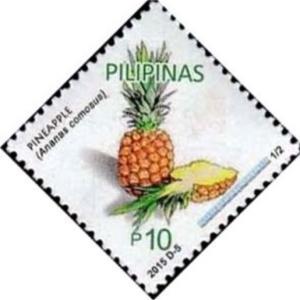 医学切手アラカルト-11.肉とパイナップルの相性-