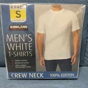 【乳首が透けない】コストコ、カークランド無地Tシャツはコスパ最強のパックT【ユニクロ越え?!】