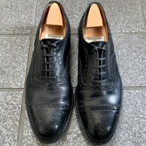 【J.M.WESTON 310】革靴にオススメの靴紐レビュー【コロンブス】