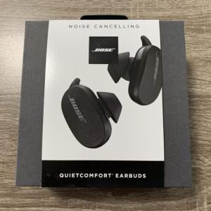 【レビュー】Bose QuietComfort Earbuds、ノイズキャンセリング機能で集中力爆上がりの完全ワイヤレスイヤホン【AirPods Pro キラー】