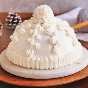 孫とケーキ作りに挑戦