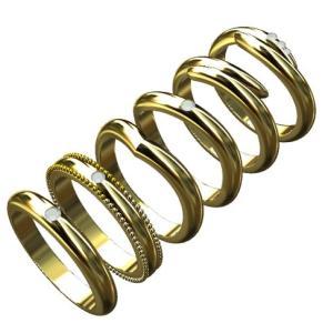 [結婚指輪]指輪の形と種類を解説。甲丸や平打ちって何?