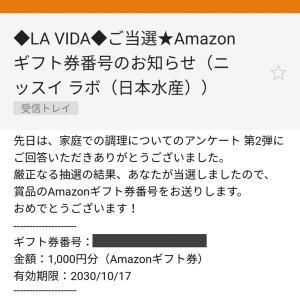 当選0022*Amazon ギフト券 1,000円