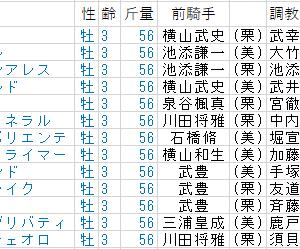 2月施行の3歳重賞「第61回きさらぎ賞(NHK賞)」~基幹距離施行のステイタス~