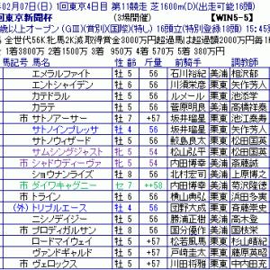 「第71回東京新聞杯」~安田記念との複雑な関係性~