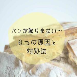 パンが膨らまない…6つの原因と対処法を解説!