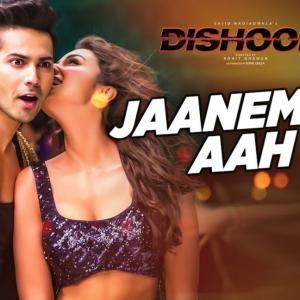 【ヒンディー語 歌詞翻訳】Jaaneman Aah जानेमन आह|インド映画 Dishoom (2016)