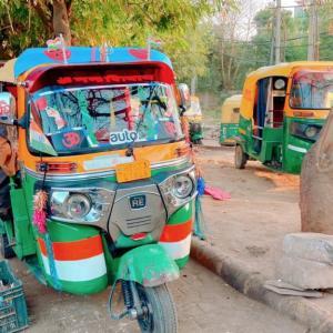 インド在住新参者 vs. ドライバー!ラウンド1