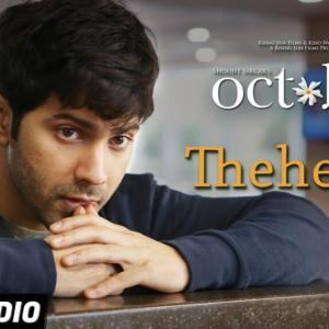 【ヒンディー語 歌詞翻訳】Theher Ja ठहर जा|インド映画 October (2018)