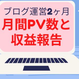 【ブログ開始2ヶ月】月間PVアクセス数とアドセンス収益を公開!【投資ブログ運営報告】