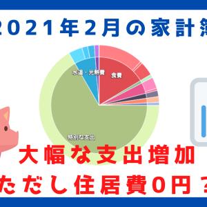 【家計簿公開】2月は大きな消費が・・・。それでも貯蓄率は約50%!30代独身サラリーマンの家計簿を大公開!【2021年2月】