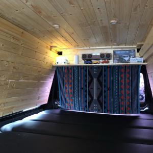 車中泊DIY 2021年 4回目(天井の板張り)