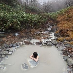 一本松温泉たつこの湯*秋田県仙北市乳頭温泉郷
