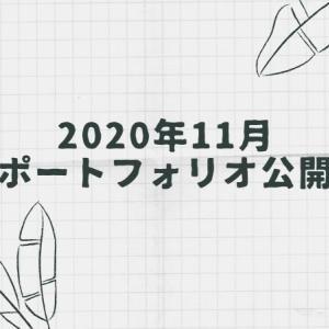 2020年11月末時点のポートフォリオ公開します!