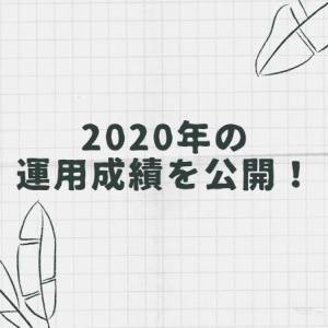 2020年の運用成績を公開します!【株式投資や投資信託の実現損益、含み損益】