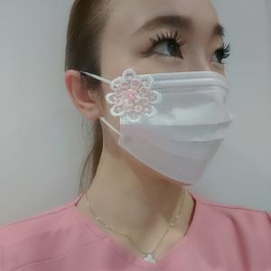 素敵な手作りマスクをいただきました♪
