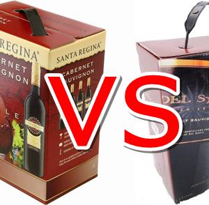 サンタ・レジーナ vs デル・ソル 最安BOXワインどちらが美味しい?