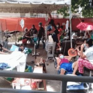病院の外で衝撃の光景!!インドネシアの次はやはりフィリピンなのか・・
