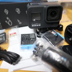 GoPro hero 8 買っちゃいました。