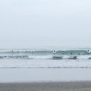 2019/07/21 鹿島ビーチ(牧之原市) 残り波