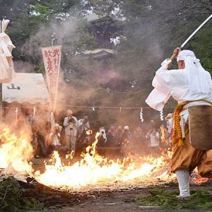 妻沼聖天山秋季例大祭2019・2日目(火渡り)