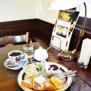 珈琲工房KUROYANAGIのモーニングフレンチトースト