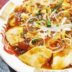 昇龍の麻婆豆腐定食と餃子