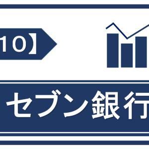 【銘柄考察】高配当日本株【8410】セブン銀行【2021年本決算】