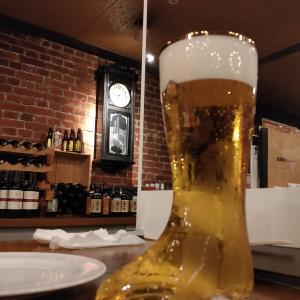函館ビヤホールのメニューは?ブーツグラスで飲むビールがおすすめ!