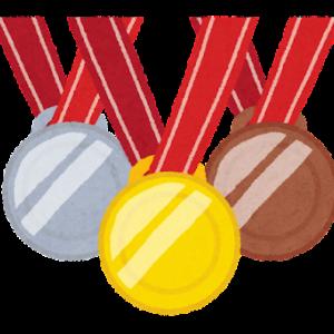 メダルラッシュにおける金メダルの価値