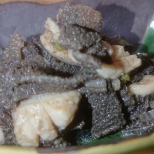 【板前レシピ】センマイ/焼き肉/タレ味付け