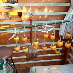 我が家の干し柿