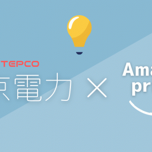 電気・ガスをセットで申し込むとAmazonプライム永年無料!【東京電力がお得】