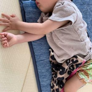 【休日】息子が発熱して体調不良な1日【不安】