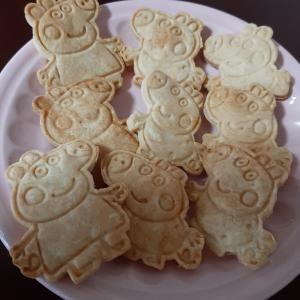 寒い日はクッキー作り