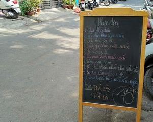 ベトナム料理名 Canh Cá Bạc Má Nấu Ngót