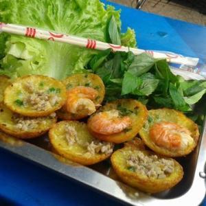 【料理名B】 ⑱ Bánh khọt バインコット