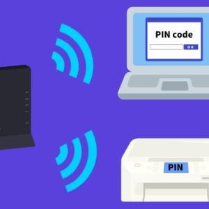 PINコードを使って、プリンターと無線LANルーターをWi-Fi接続する方法