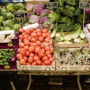 """【お出掛け】""""チョンバルマーケット"""" でお野菜購入&自宅でお料理♪"""
