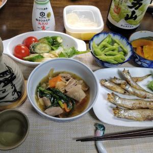 1.25 「北海道産雄雌シシャモ」の晩酌セット!