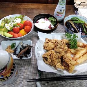 7.20 「北海道ザンギ?」の晩酌セット!