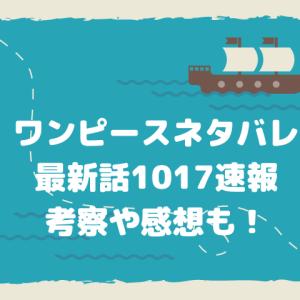 【1017話】ワンピースネタバレ最新話確定!ヤマトVS四皇カイドウ!お玉の号令で戦力が同等に!