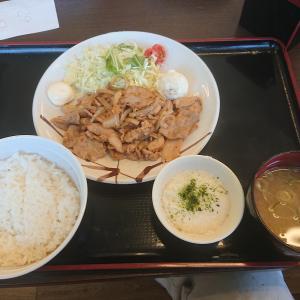 生姜焼き定食(山田うどん食堂高坂店/埼玉県東松山市)