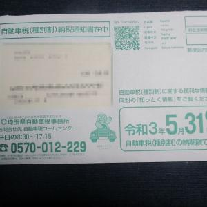 自動車税は県税!納付期限は5月31日となっています