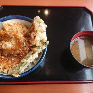 天丼てんやの野菜天丼!(天丼てんや東松山店/埼玉県東松山市)