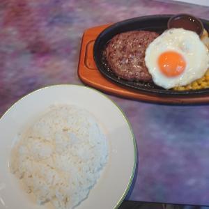 ハンバーグステーキ&ライス(サイゼリヤ若葉店/埼玉県鶴ヶ島市)